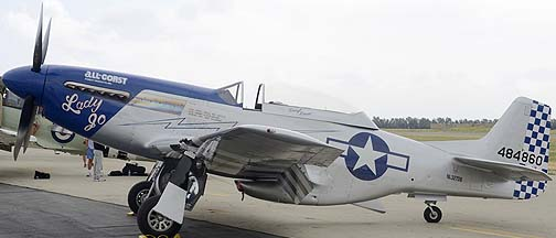 North American P-51D Mustang NL327DB Lady Jo, May 14, 2011